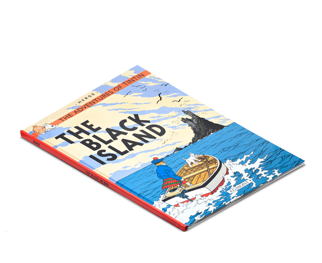 The Adventures of Tintin Book: The Black Island. Compendium Design Store, Fremantle. AfterPay, ZipPay accepted.
