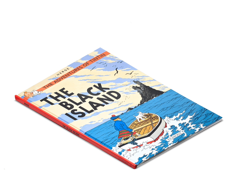 The Adventures of Tintin Book: The Black Island