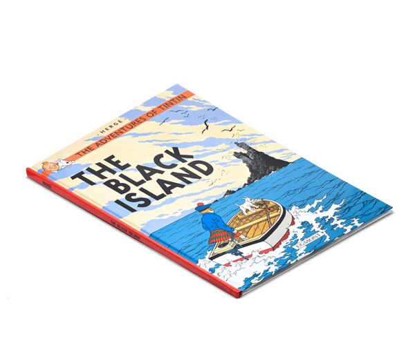 Moulinsart Tintin Hardcover The Adventures of Tintin: The Black Island