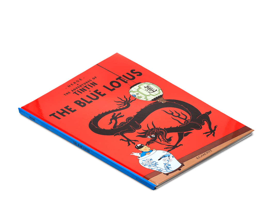 The Adventures of Tintin Book: The Blue Lotus. Compendium Design Store, Fremantle. AfterPay, ZipPay accepted.