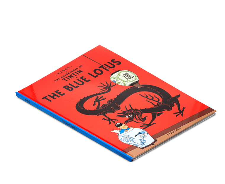 The Adventures of Tintin Book: The Blue Lotus