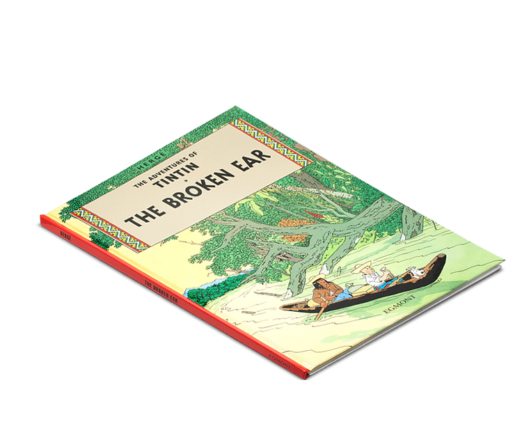 The Adventures of Tintin Book: The Broken Ear