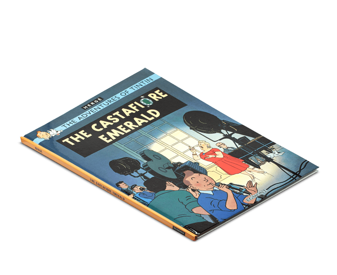 The Adventures of Tintin Book: The Castafiore Emerald. Compendium Design Store, Fremantle. AfterPay, ZipPay accepted.