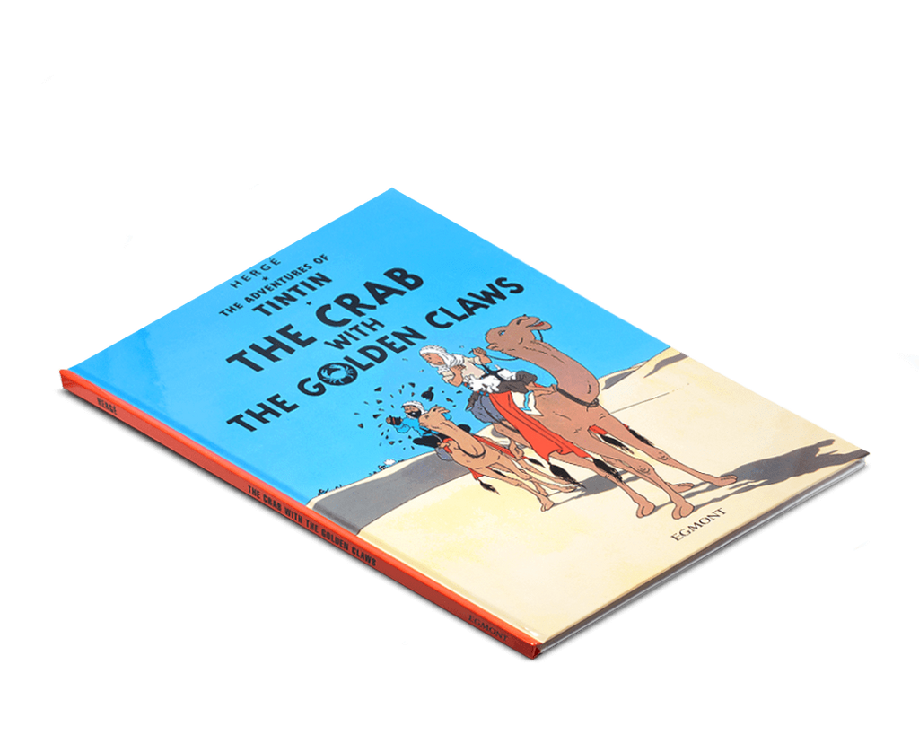 The Adventures of Tintin Book: The Crab with the Golden Claws. Compendium Design Store, Fremantle. AfterPay, ZipPay accepted.