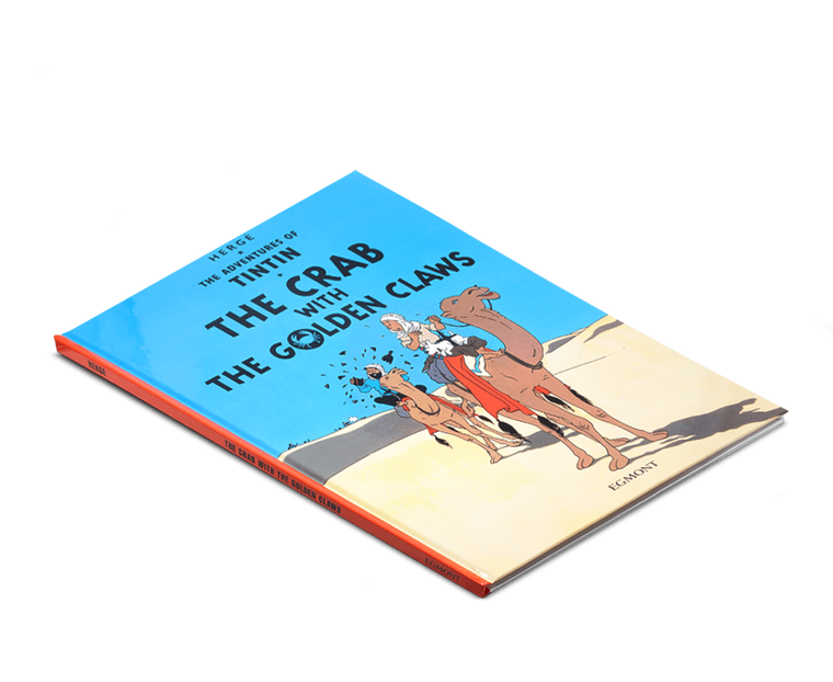 The Adventures of Tintin Book: The Crab with the Golden Claws