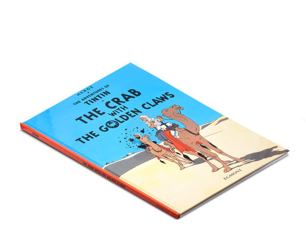 Moulinsart Tintin Hardcover The Adventures of Tintin: The Crab with the Golden Claws