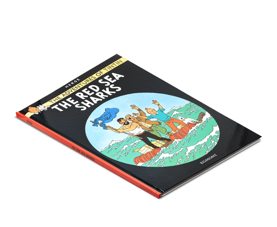 The Adventures of Tintin Book: The Red Sea Sharks. Compendium Design Store, Fremantle. AfterPay, ZipPay accepted.