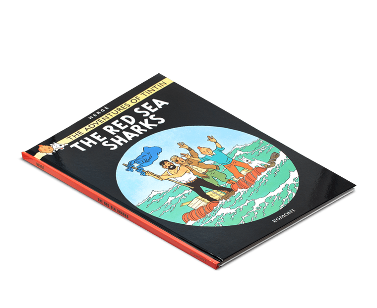 The Adventures of Tintin Book: The Red Sea Sharks