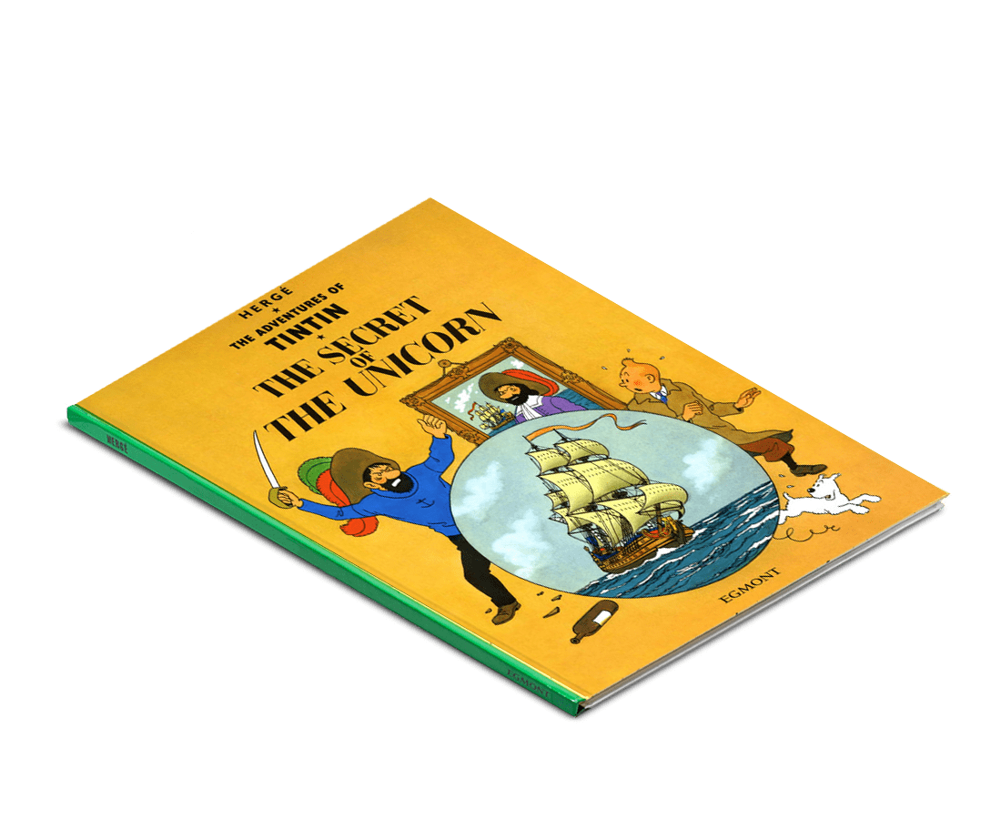 The Adventures of Tintin Book: The Secret of the Unicorn. Compendium Design Store, Fremantle. AfterPay, ZipPay accepted.