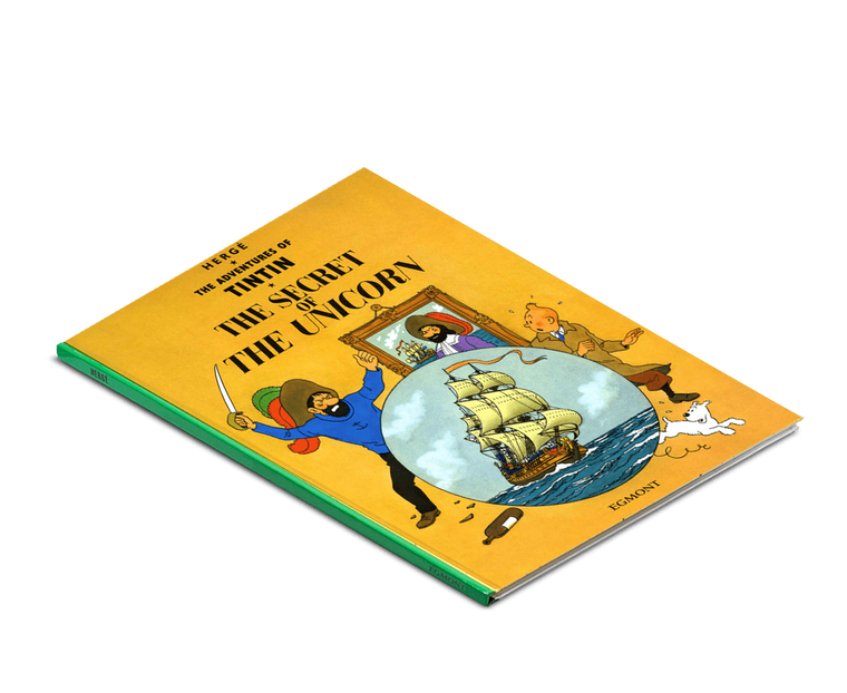 The Adventures of Tintin Book: The Secret of the Unicorn