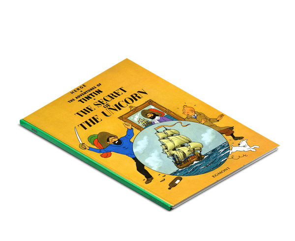 Moulinsart Tintin Hardcover The Adventures of Tintin: The Secret of the Unicorn