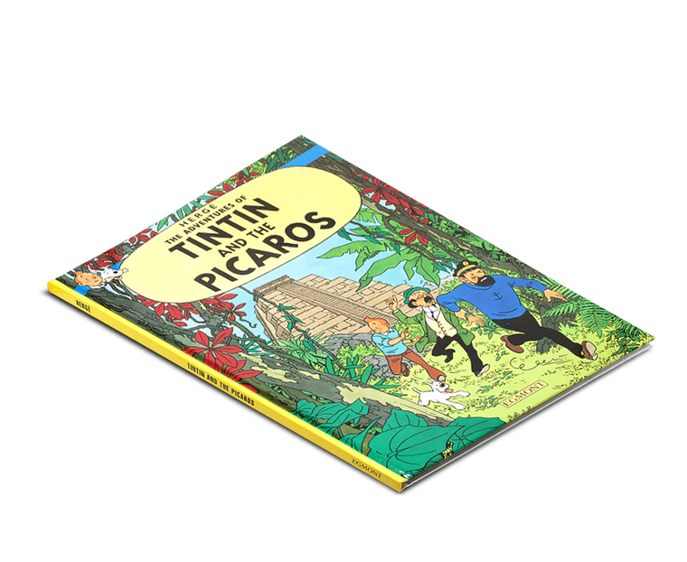 The Adventures of Tintin Book: Tintin and the Picaros