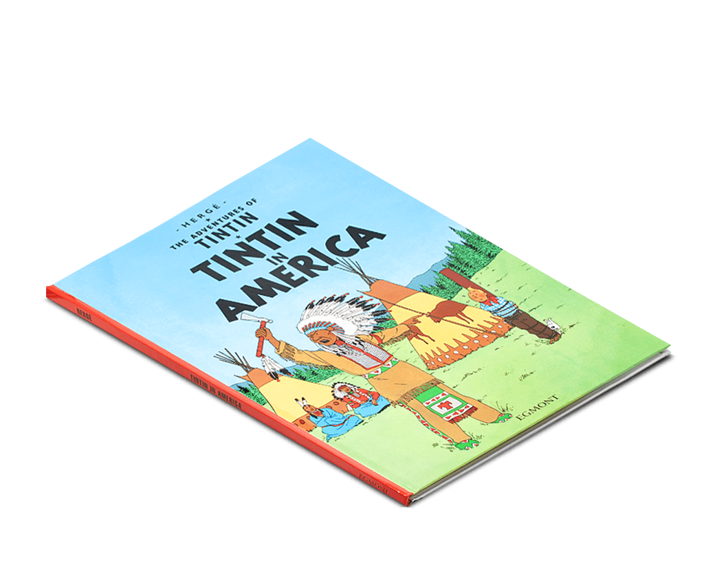 The Adventures of Tintin Book: Tintin in America. Compendium Design Store, Fremantle. AfterPay, ZipPay accepted.