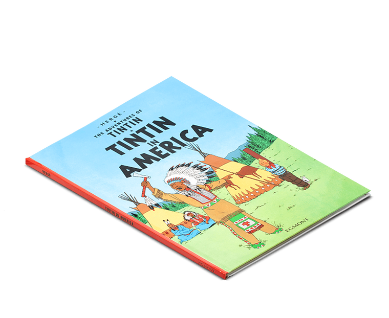 The Adventures of Tintin Book: Tintin in America