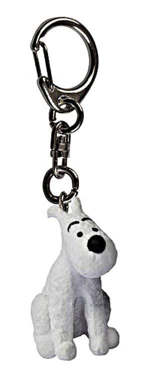 Snowy Sitting Keyring 2.5cm. Compendium Design Store, Fremantle. AfterPay, ZipPay accepted.