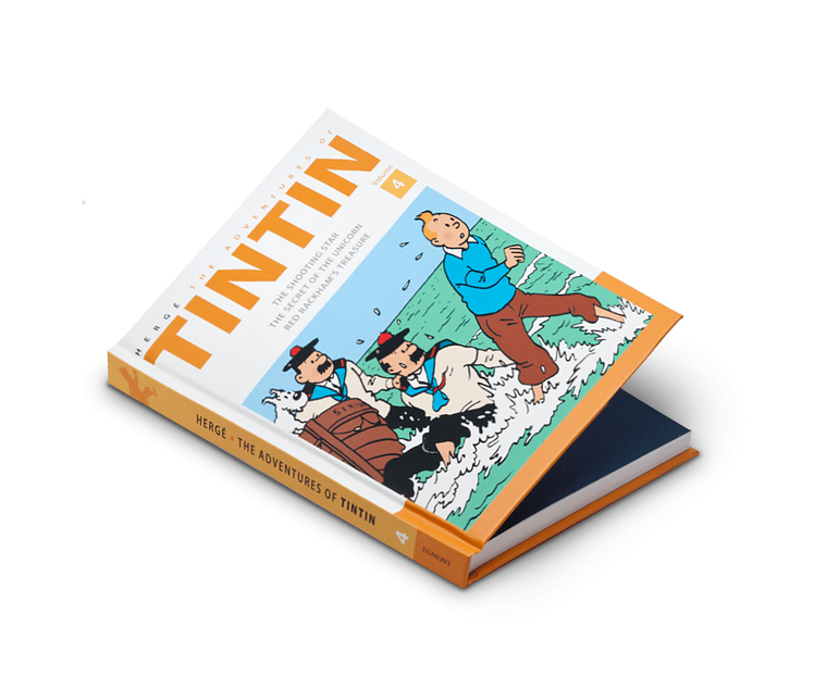 The Adventures of Tintin Comics Vol. 4