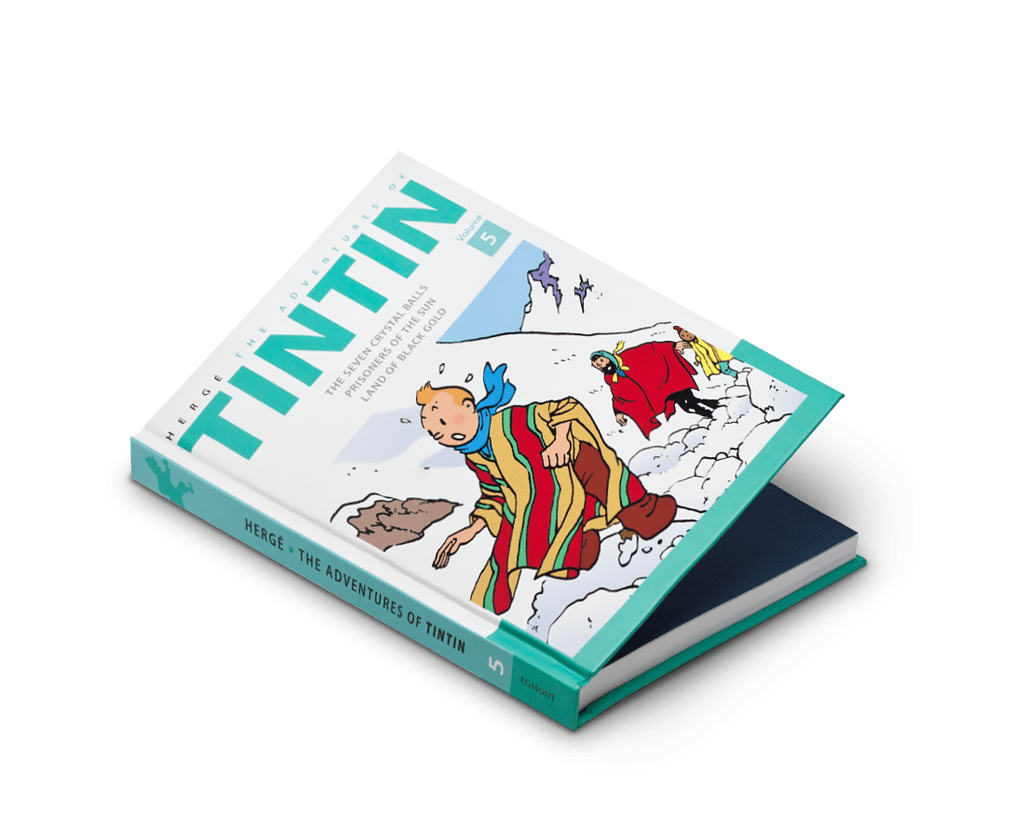 The Adventures of Tintin Comics Vol. 5. Compendium Design Store, Fremantle. AfterPay, ZipPay accepted.