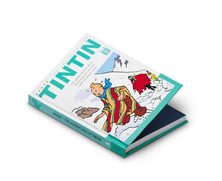 The Adventures of Tintin Comics Vol. 5