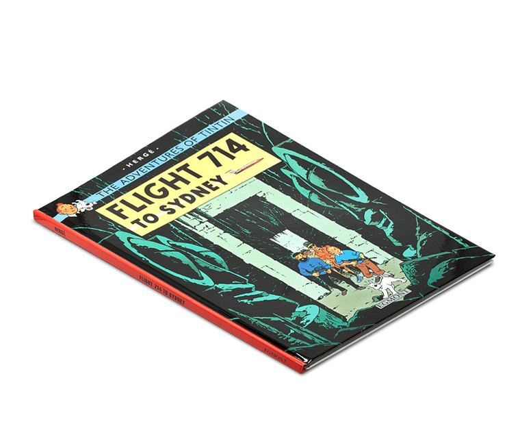 The Adventures of Tintin Book: Flight 714 to Sydney