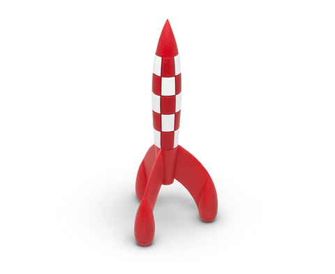 The Adventures of Tintin Moon Rocket figurine (17cm)