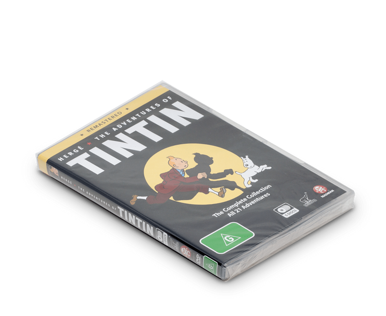 The Adventures of Tintin: Remastered DVD Set