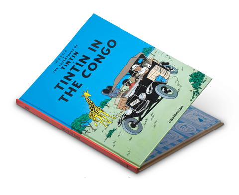 Tintin In The Congo (A4 English)