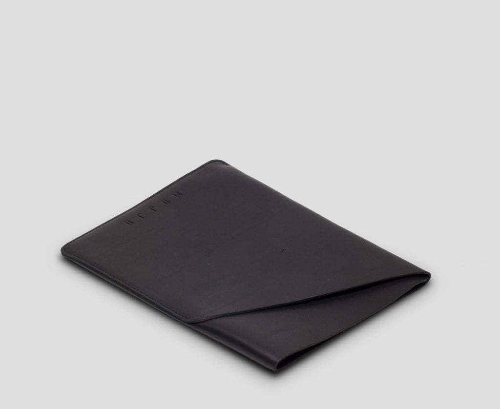 Mujjo Bags/Tech Black Slim fit iPad Mini Sleeve · Black