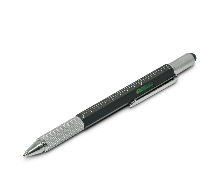 Metal Multi-Tool Ballpoint Pen