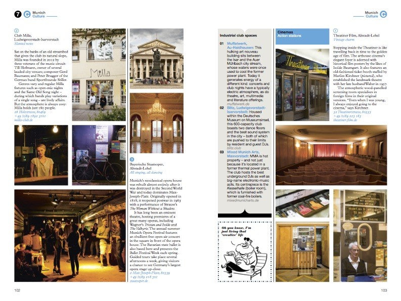 The Monocle Travel Guide to Munich No. 24. Monocle. Compendium Design Store. AfterPay, ZipPay accepted.