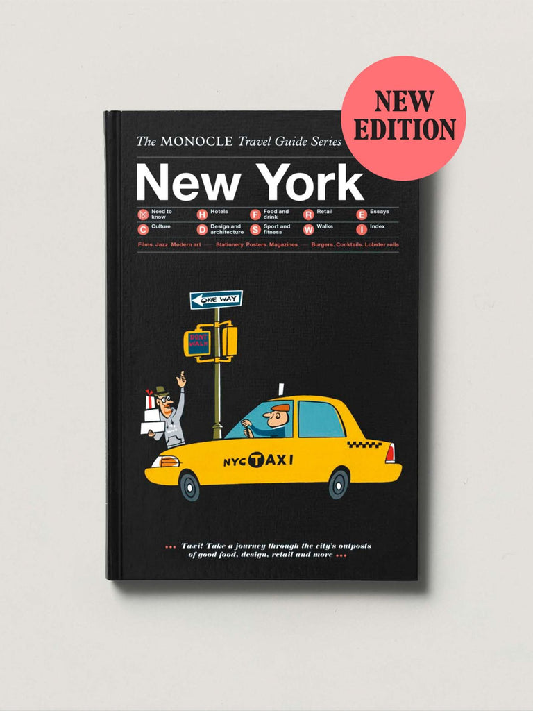 The Monocle Travel Guide No. 02 New York (Updated Edition). Compendium Design Store, Fremantle. AfterPay, ZipPay accepted.