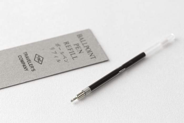 Traveler's Company Japan Pen in white. Traveler's Company Japan. Compendium Design Store. AfterPay, ZipPay accepted.