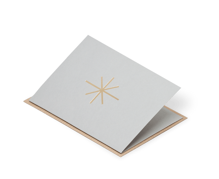Star Christmas Card Ola Studio