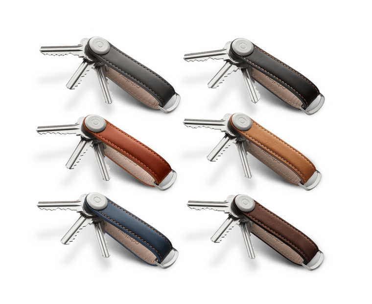 Orbitkey 2.0 Key Organiser Premium Leather Edition