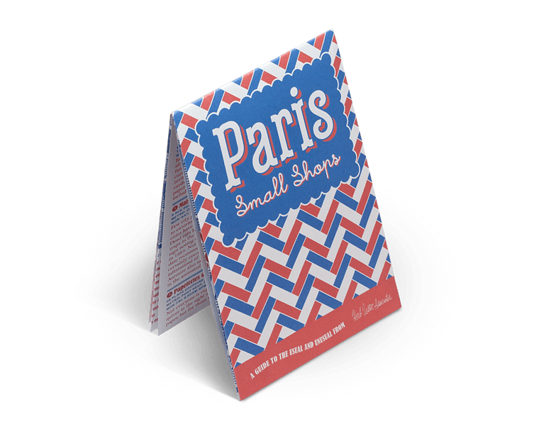 Paris Small Shops. City Guide & Map by Herb Lester