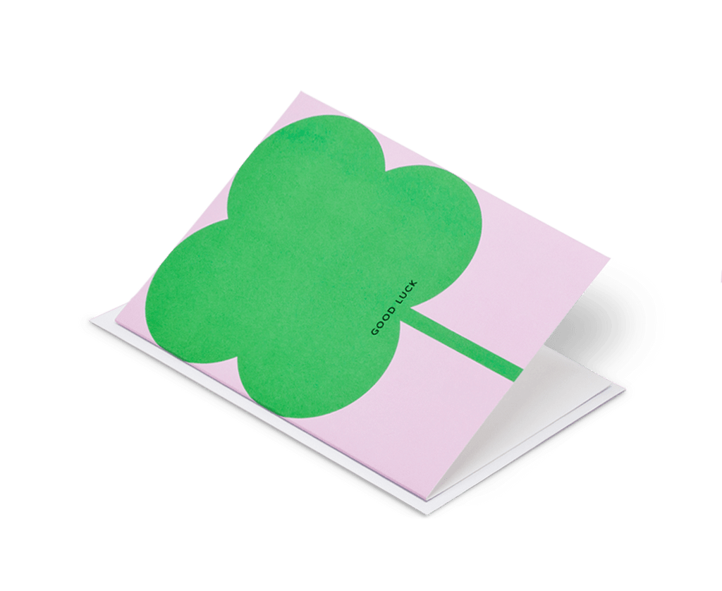 Good Luck card by Paul Farrell. Paul Farrell. Compendium Design Store. AfterPay, ZipPay accepted.