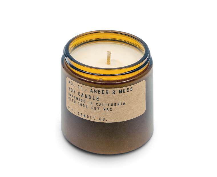 PF Candle Co Amber & Moss 7.2oz (204g)  Candle