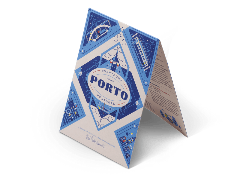 Everybody Loves Porto. City Guide & Map by Herb Lester