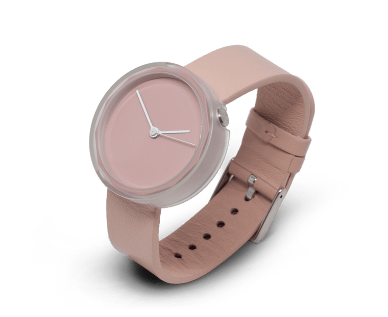 Prism watch in Blush by AARK Collective