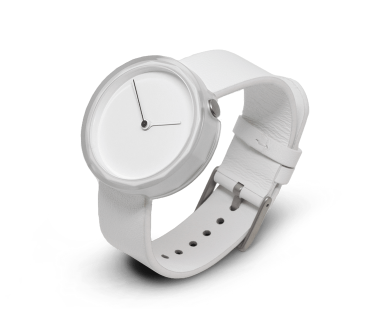 Prism watch in White by AARK Collective