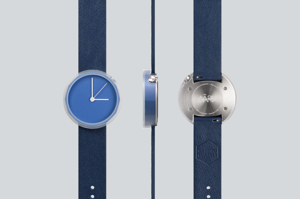 Prism watch in Blue by AARK Collective. AARK COLLECTIVE. Compendium Design Store. AfterPay, ZipPay accepted.