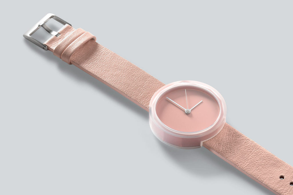 Prism watch in Blush by AARK Collective. AARK COLLECTIVE. Compendium Design Store. AfterPay, ZipPay accepted.