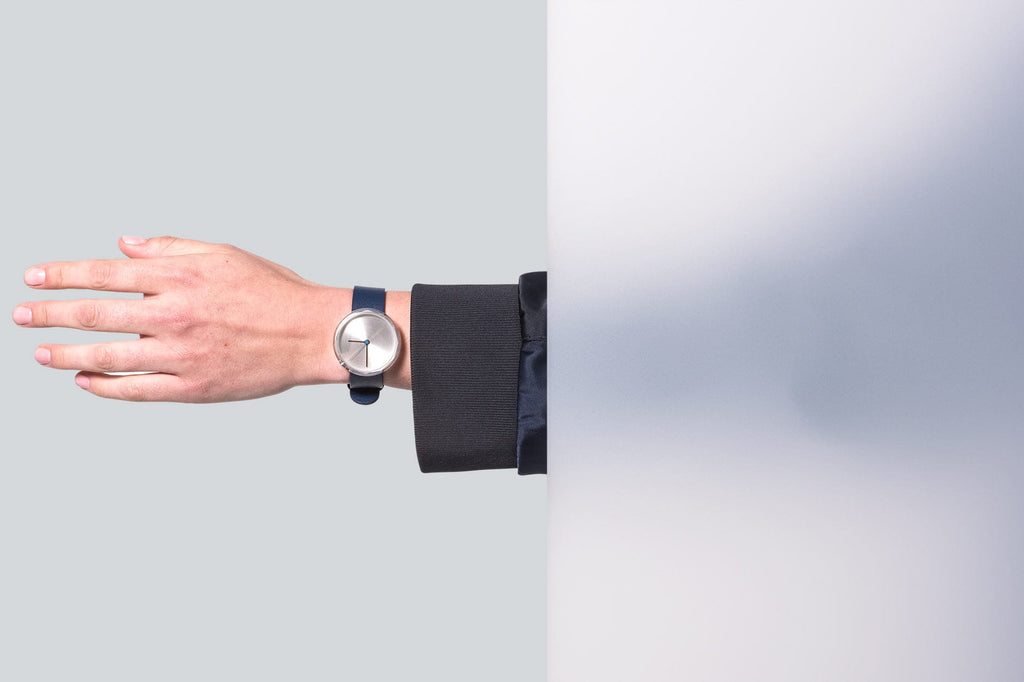 Prism watch in Silver by AARK Collective. AARK COLLECTIVE. Compendium Design Store. AfterPay, ZipPay accepted.