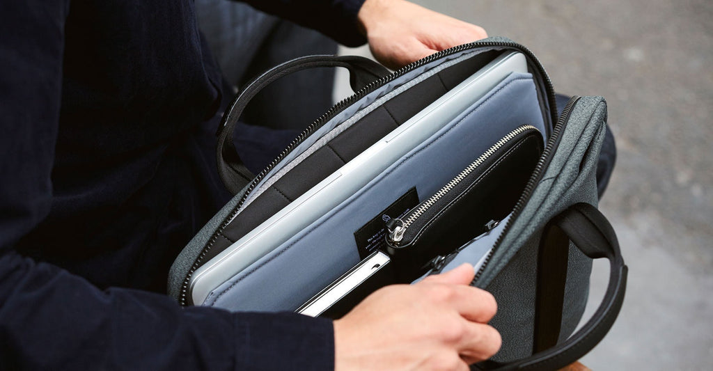 Bellroy Laptop Brief 15inch. Bellroy. Compendium Design Store. AfterPay, ZipPay accepted.