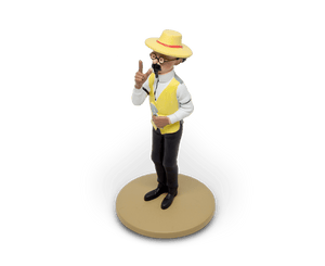 Professor Calculus Gardening Resin Figurine