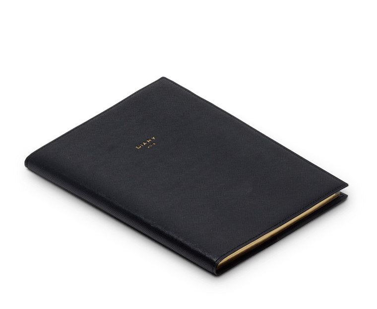 2018 Diary A5 Quitterie Black