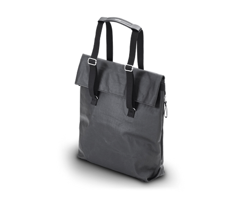 Day Tote in Organic Jet Black