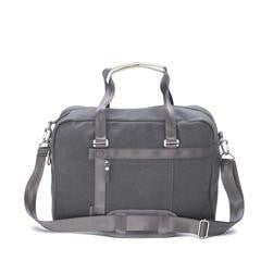 Qwstion Bags/Tech Office Tote in Washed Grey