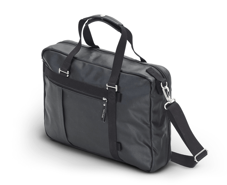 Qwstion Office Tote in Organic Jet Black