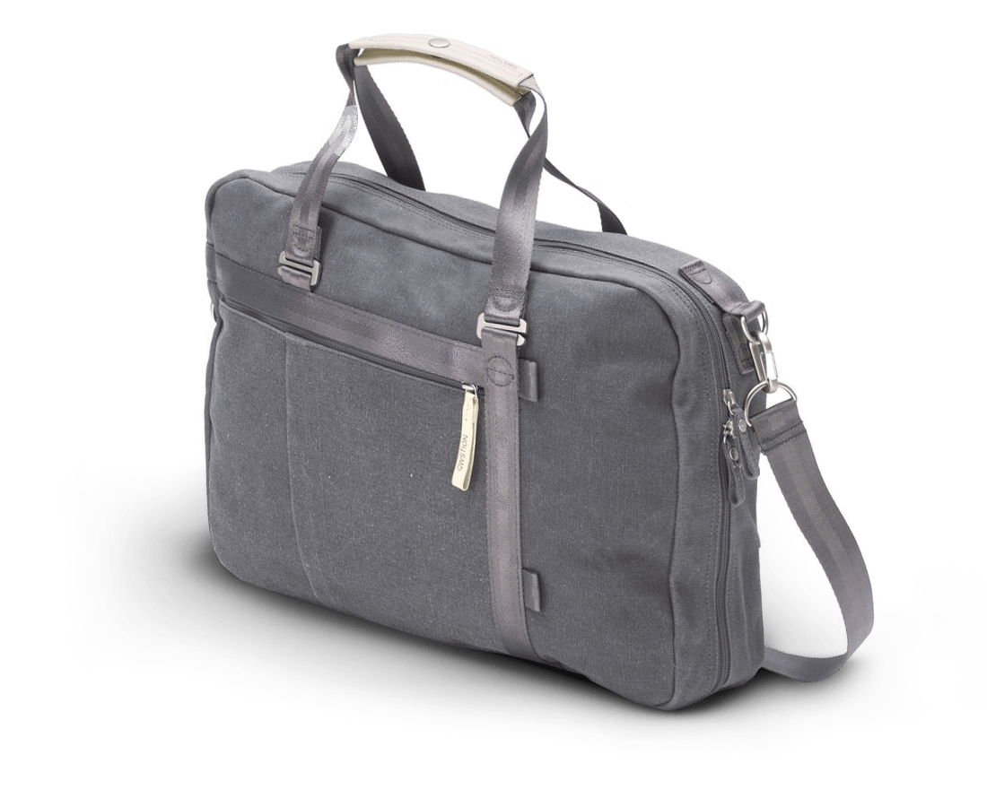QWSTION Office Tote in Washed Grey.Compendium Design Store, Fremantle. AfterPay.