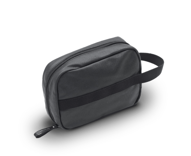 Qwstion Toiletry Kit in Organic Jet Black